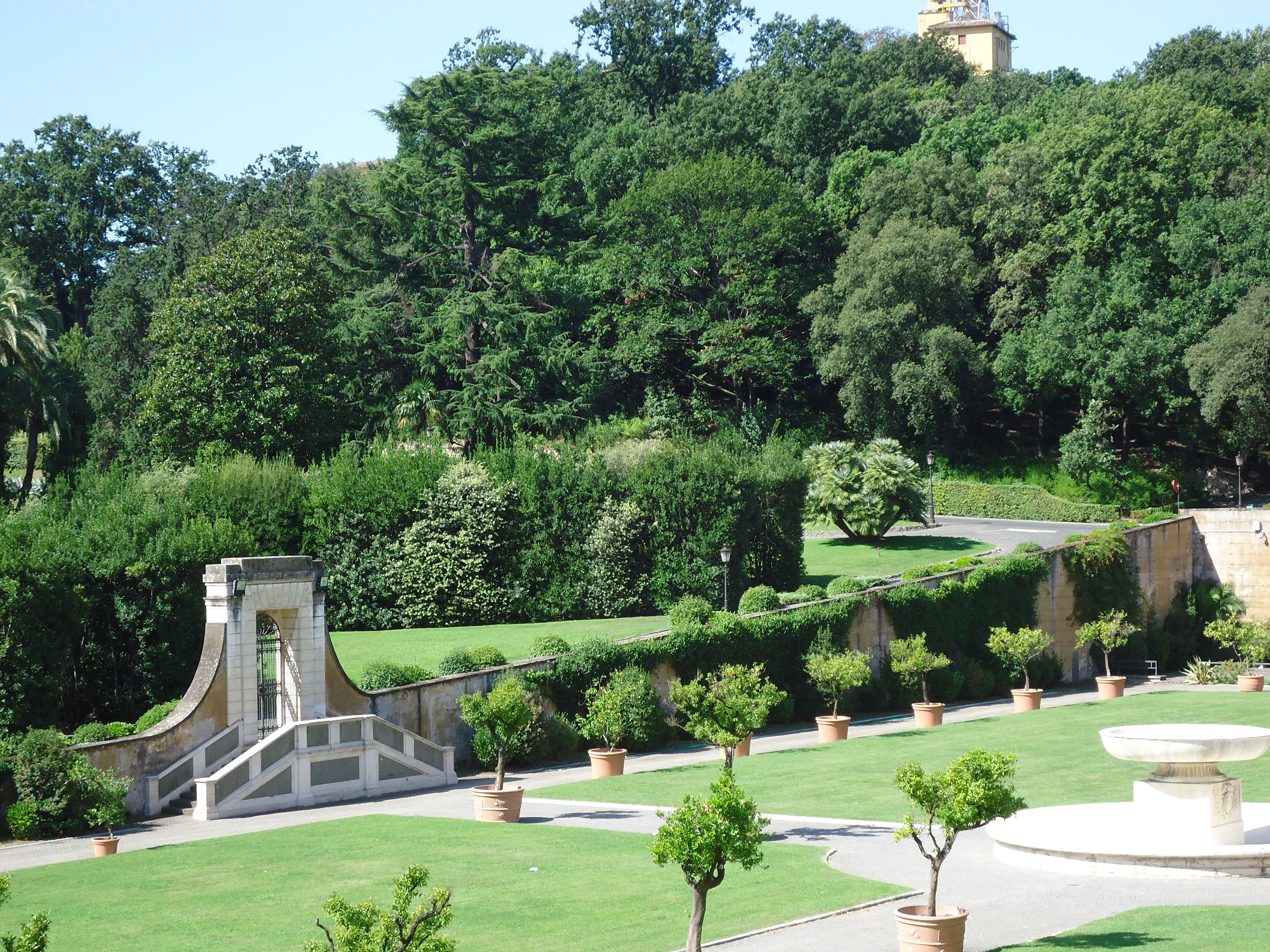 Pauselijke tuin - Vaticaanstad - Rome