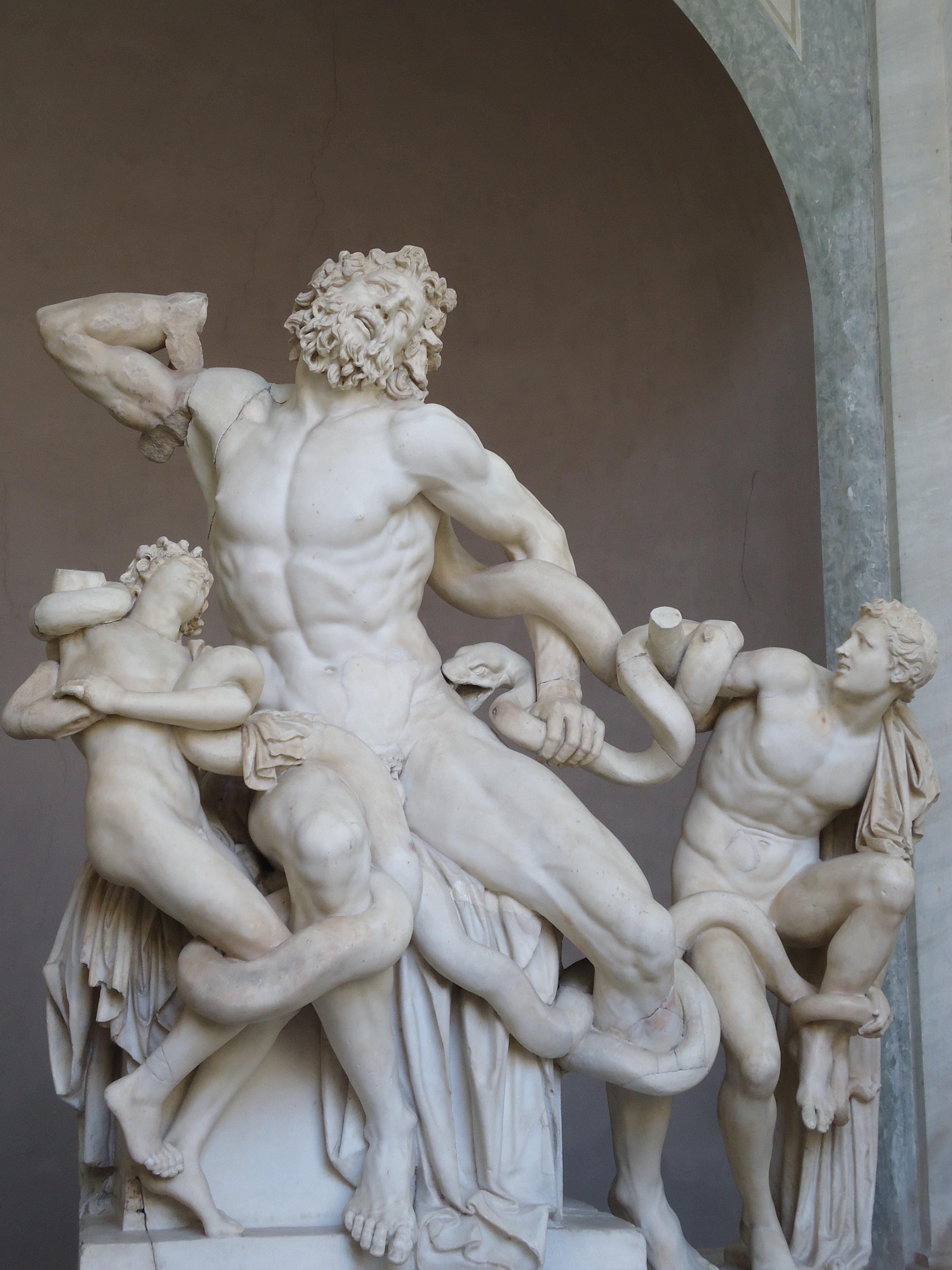 Laocoöngroep - Vaticaans museum - Rome