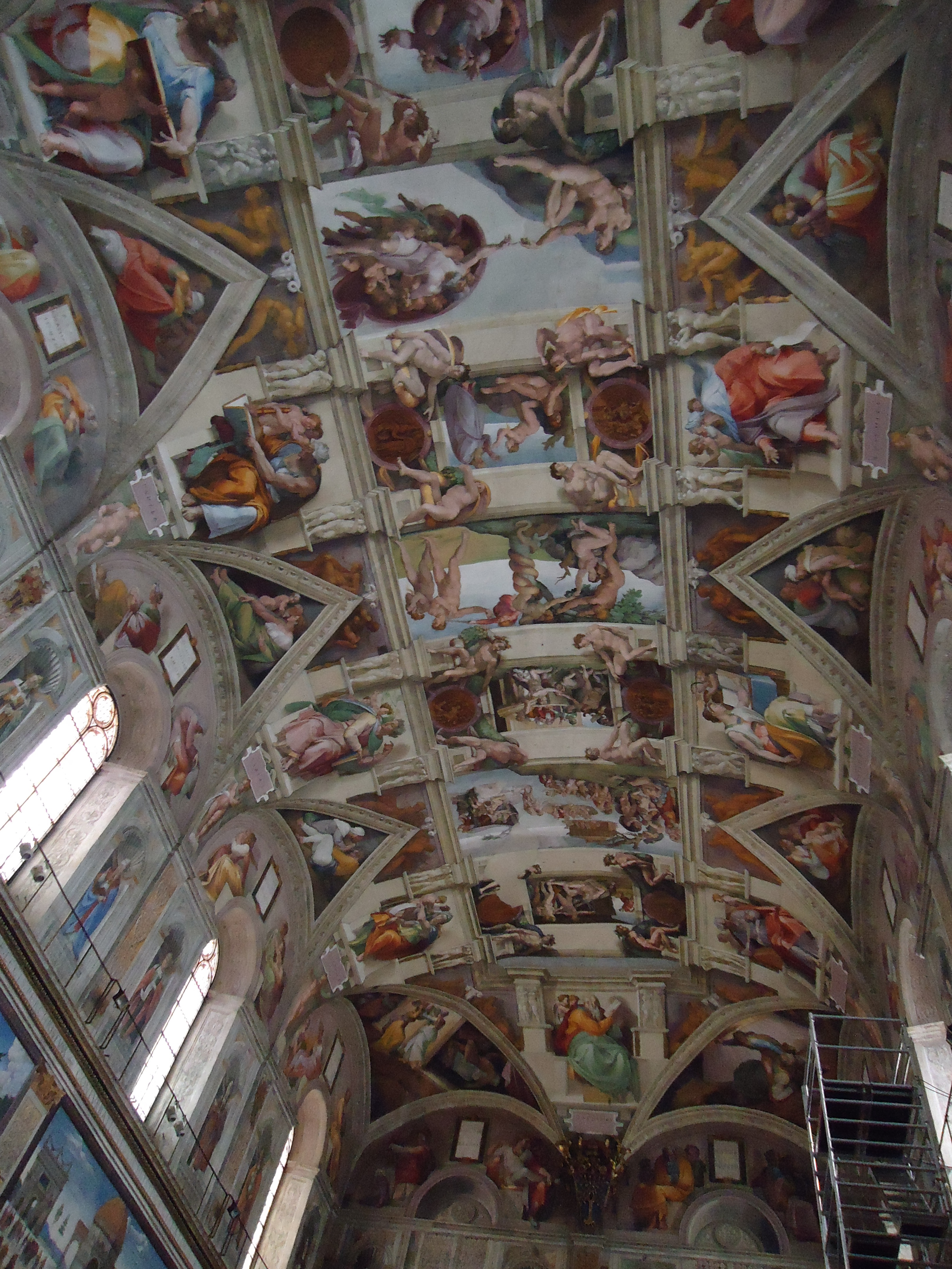 Plafond Sixtijnse Kapel - Michelangelo - Vaticaans Museum - Rome