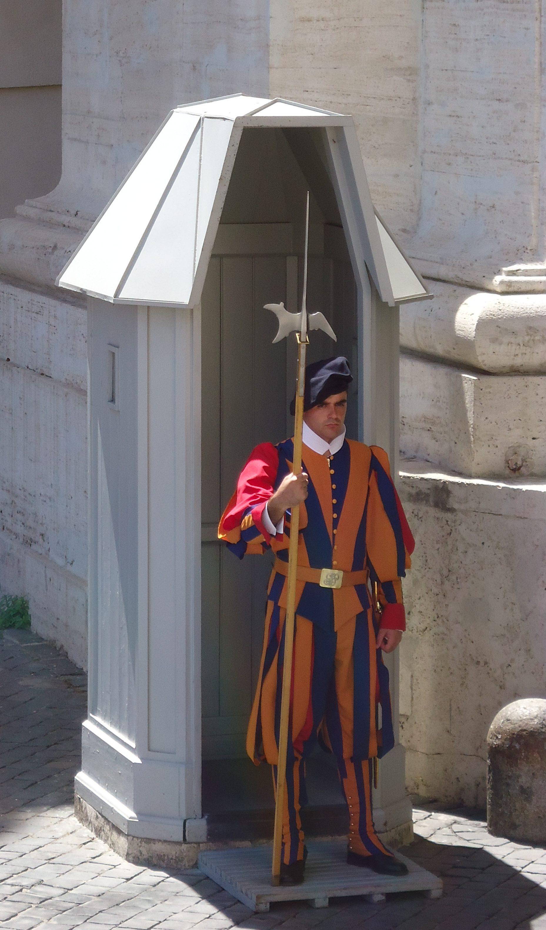 Zwitserse Garde - Vaticaan - Rome