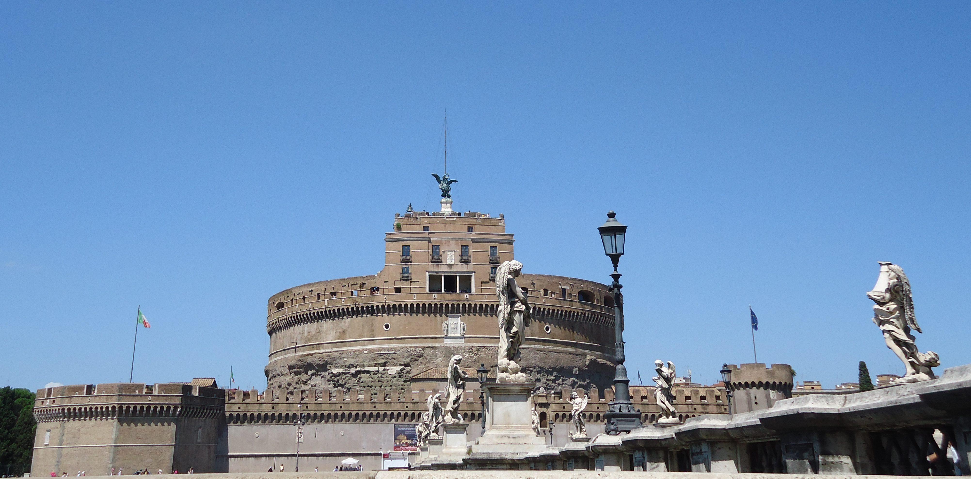 Engelenburcht - Mausoleum van Hadrianus - Rome
