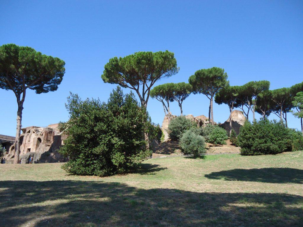 Paleis van Keizer Augustus - Palatijn - Rome
