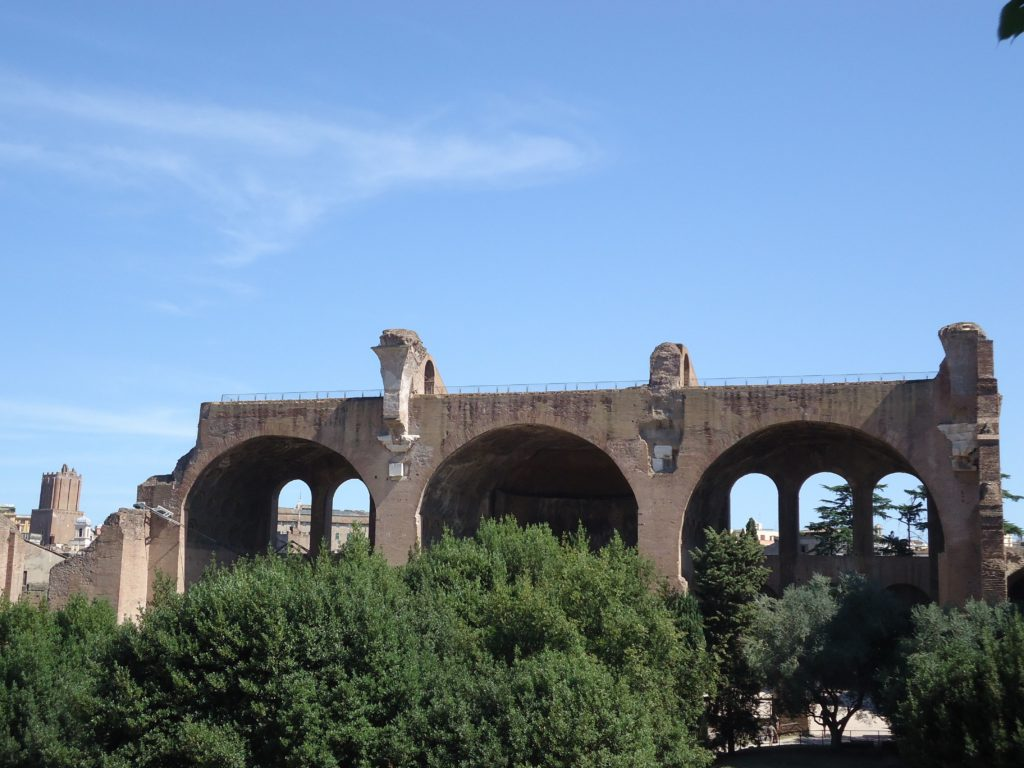 Basilica - Forum Romanum - Rome