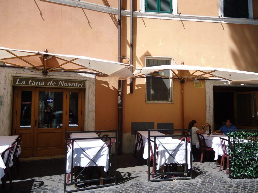 La Tana de Noantri - pizza houtoven - restaurant - Rome