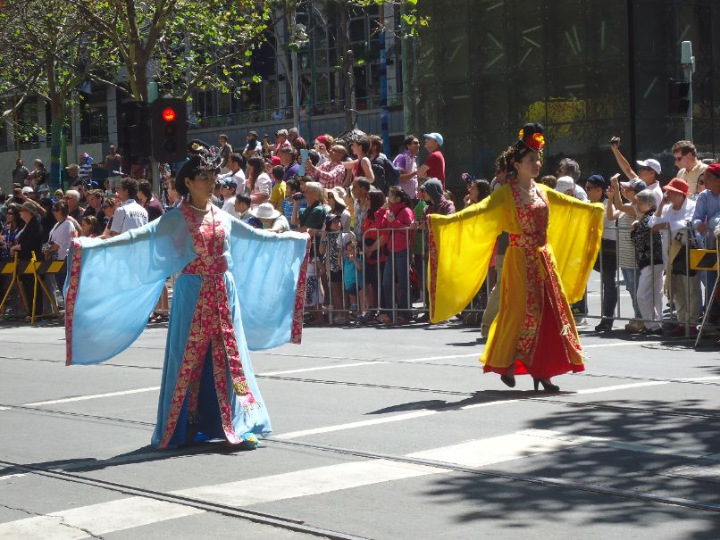 Australia Day Parade Melbourne - Asia