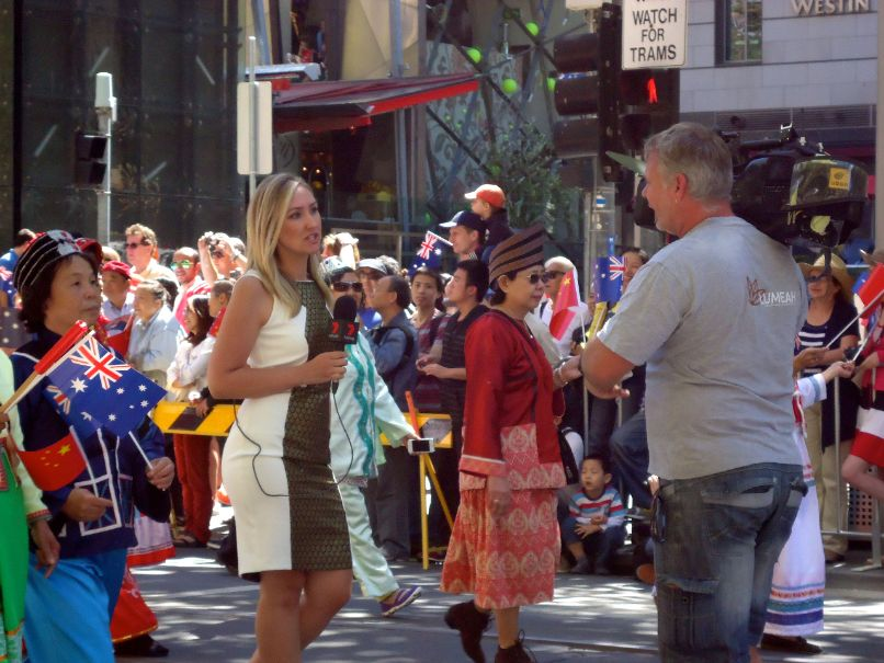 Australia Day Parade Melbourne - Channel 7 News
