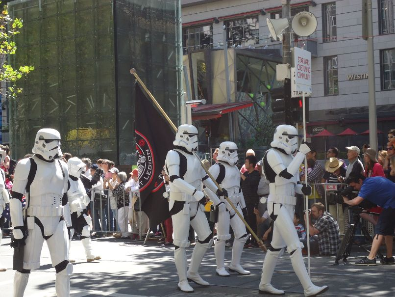Australia Day Parade Melbourne - Stormtroopers Star Wars