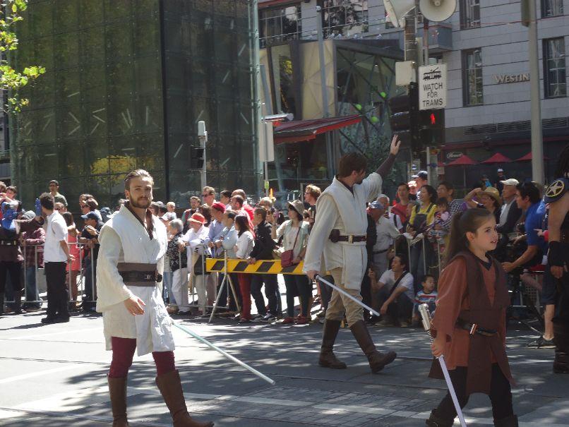 Australia Day Parade Melbourne - Jedi