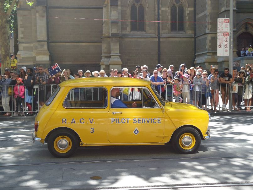 Australia Day Parade Melbourne - RACV