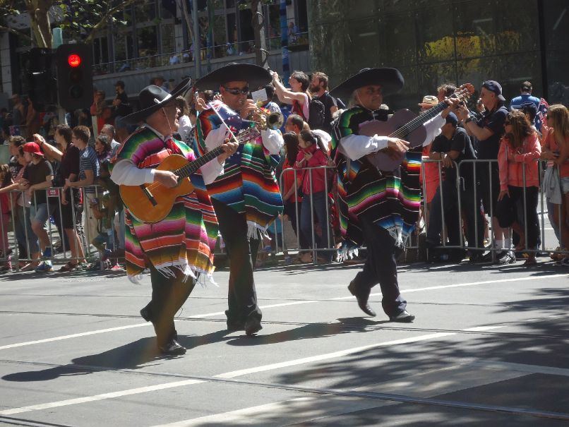 Australia Day Parade Melbourne - Mexico