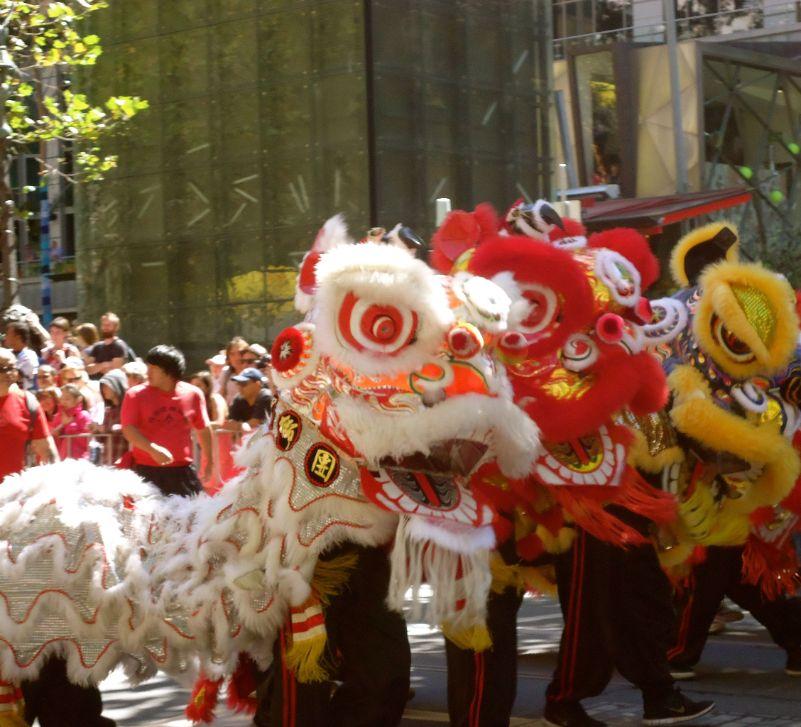 Australia Day Parade Melbourne - Chinese draken