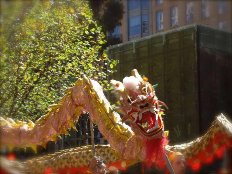 Australia Day Parade Melbourne - Chinese draak