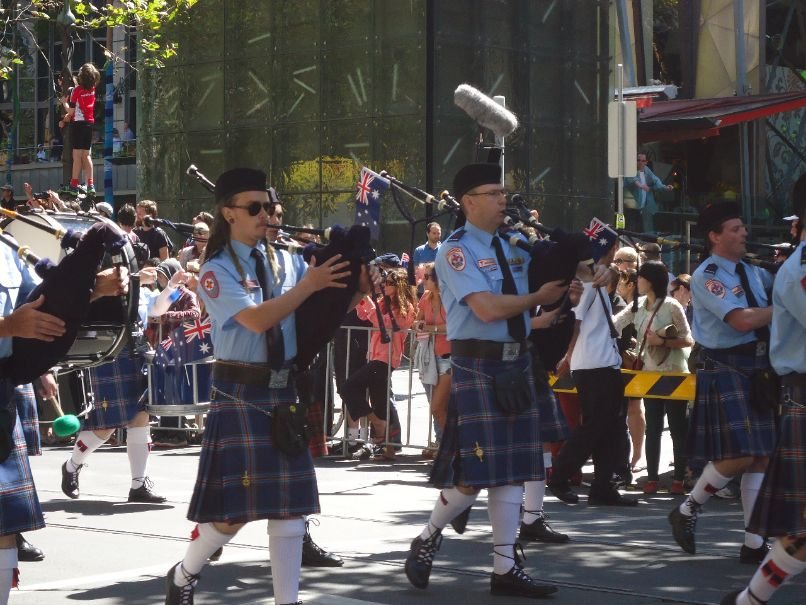 Australia Day Parade Melbourne - Schotten