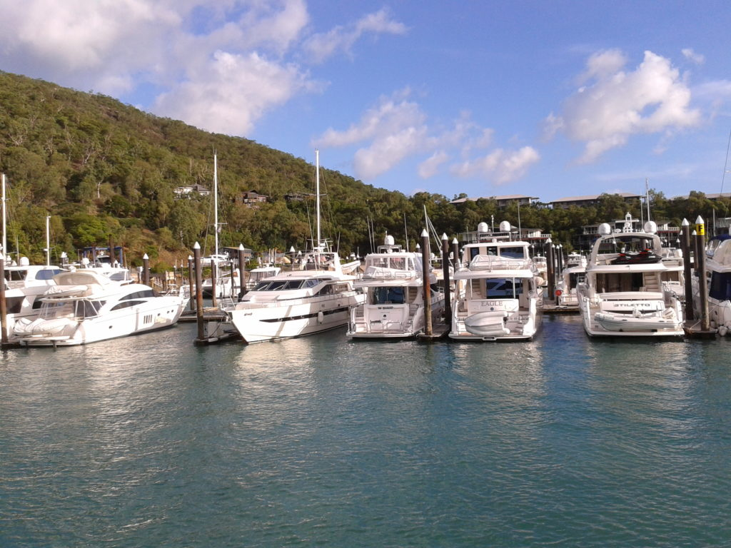 Hamilton Island haven Whitsundays