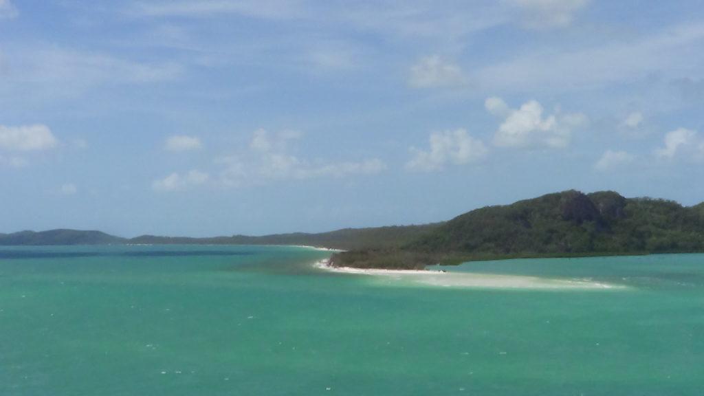 Zicht op Whitsunday Island vanuit Hill Inlit