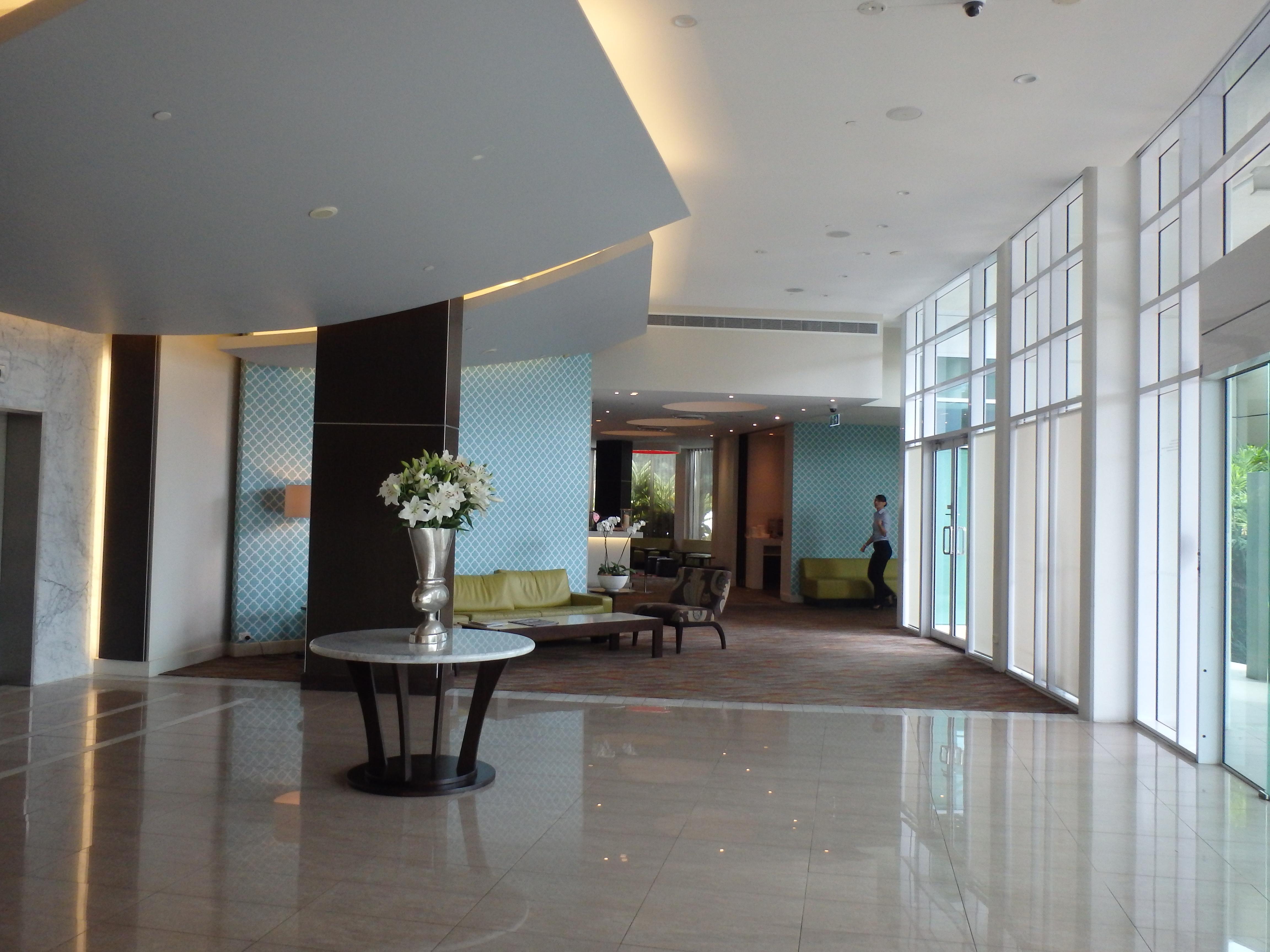 lobby The Point Hotel Brisbane