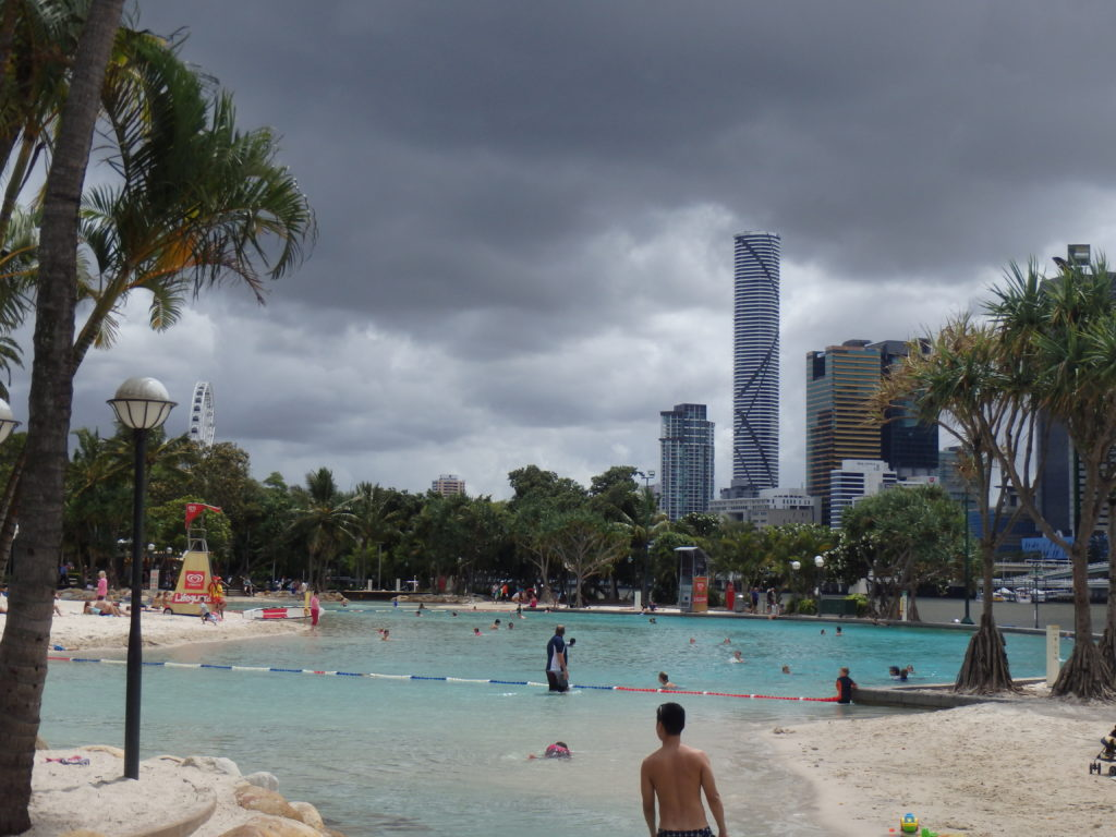 Lagune in Brisbane