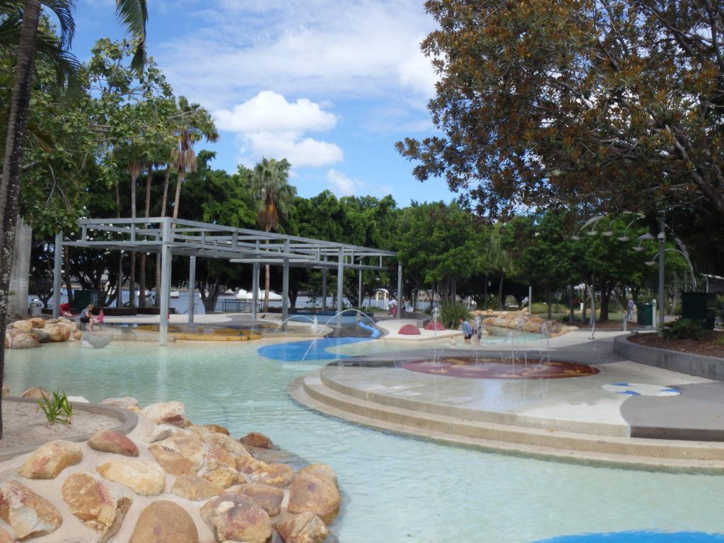 lagune Brisbane kinderbad