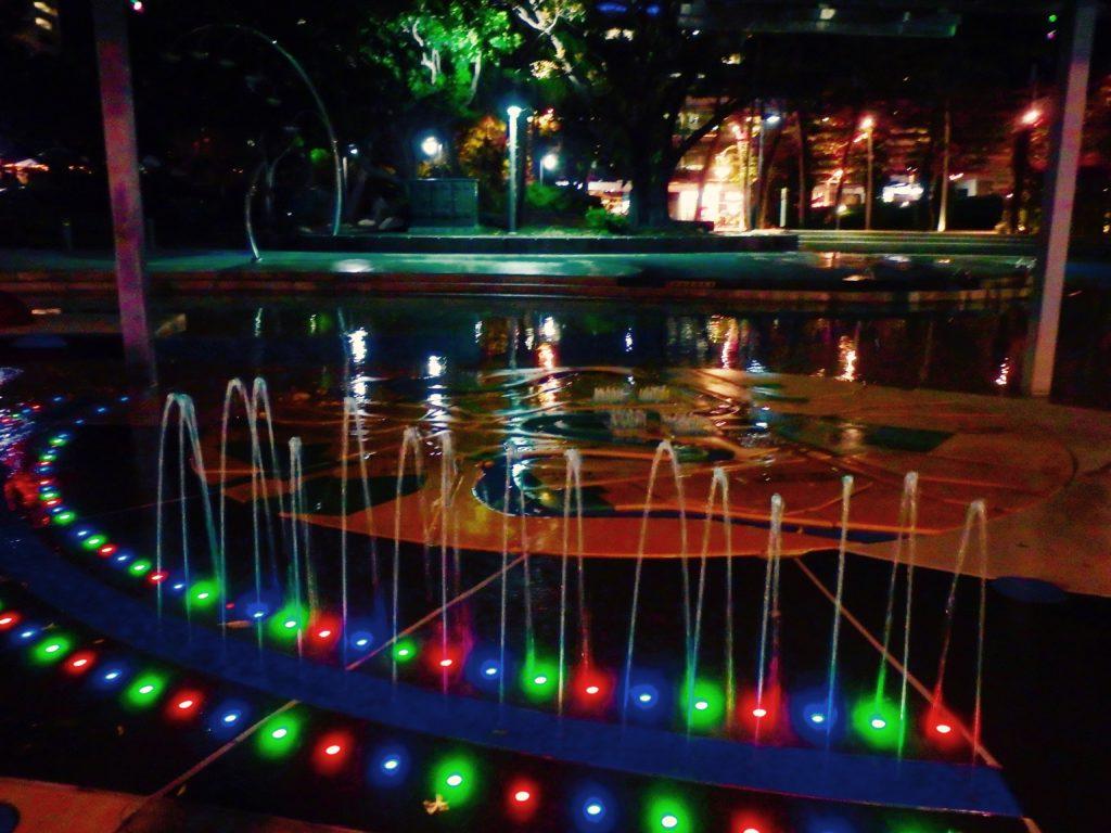lagune by night in Brisbane
