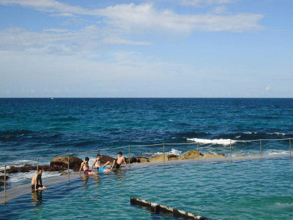 zwembad in zee Sydney