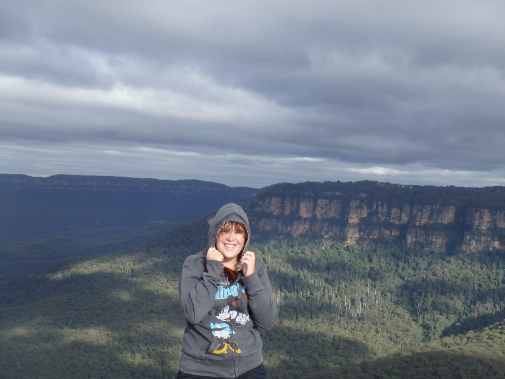 Windy Blue Mountains
