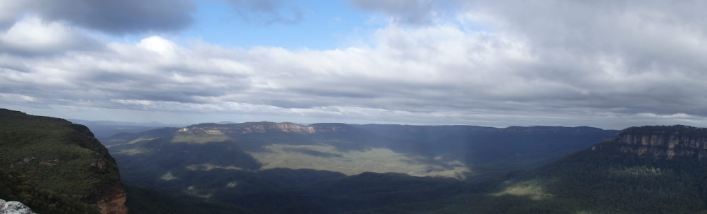 Panorama Blue Mountains