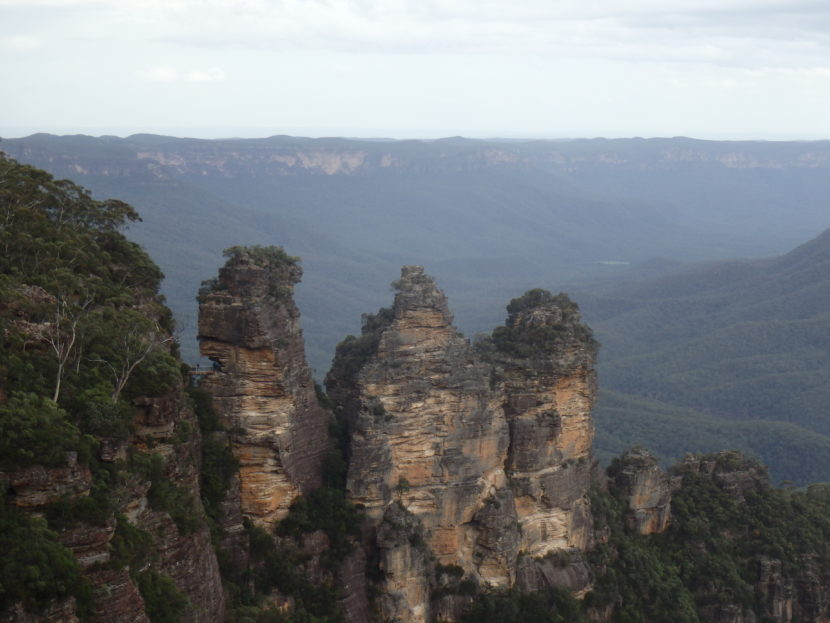 Three Sister in de Blue Mountains