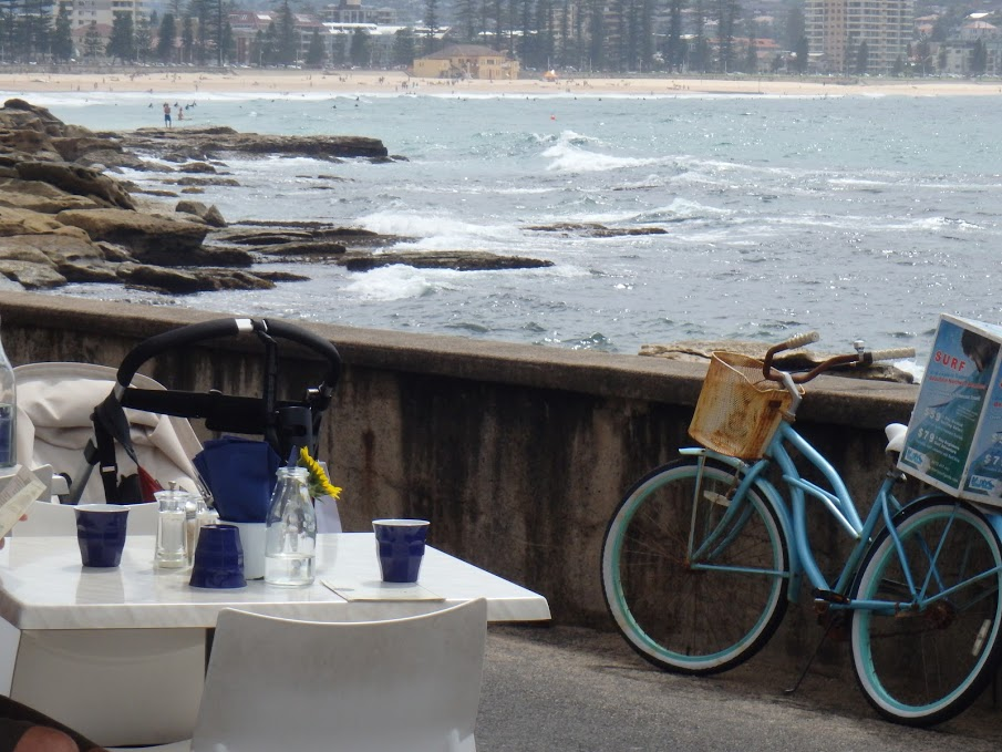Terras aan The Bower in Manly