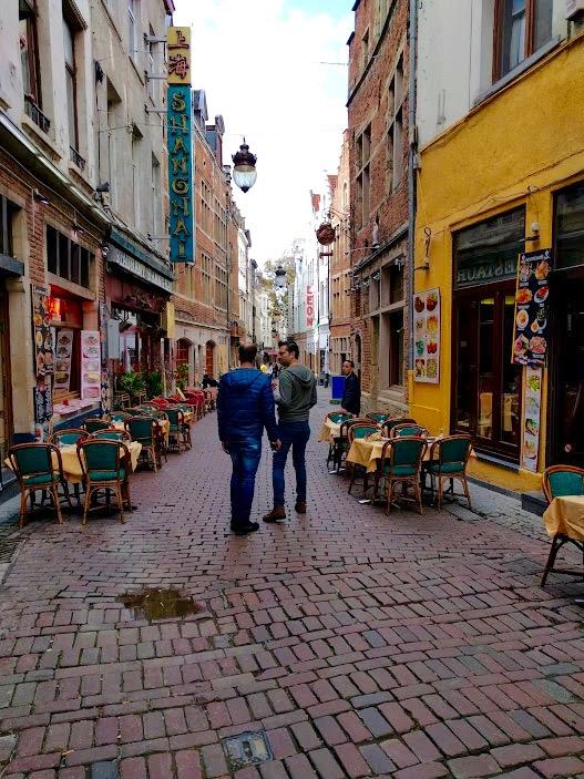 Beenhouwerstraat/Rue de Boucher - Bxl - Brussel