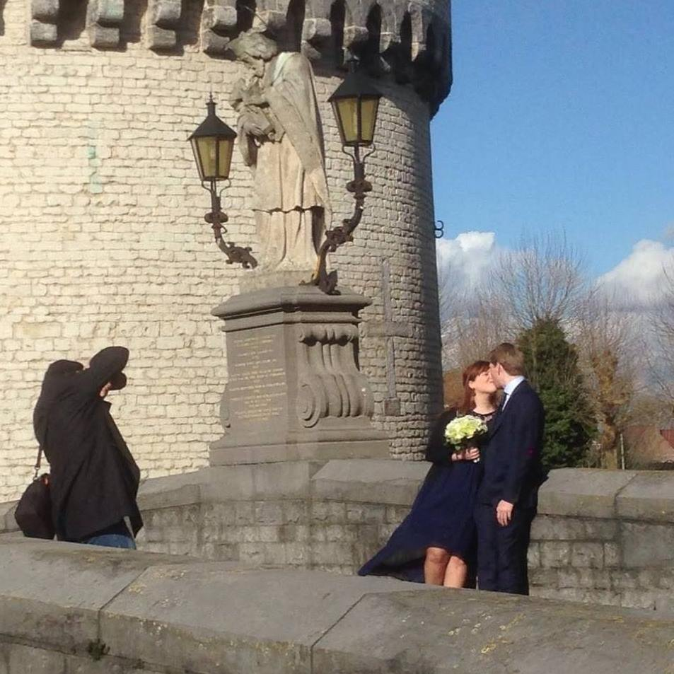 trouwfoto in Kortrijk