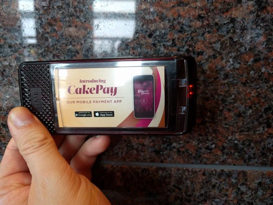 CakePay, bieper