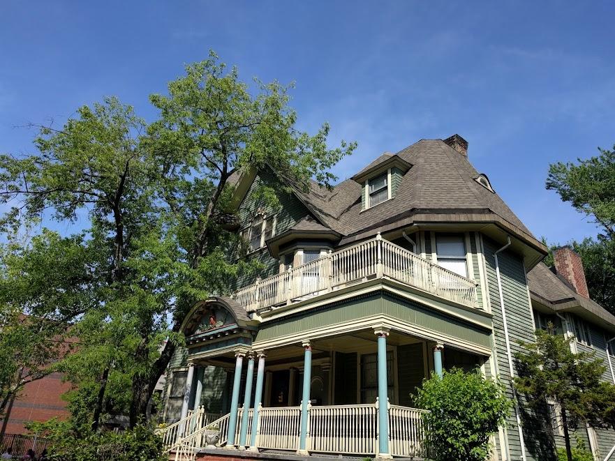 Folk Victorian huis