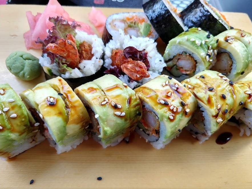 Sushi bij Sushi Palace