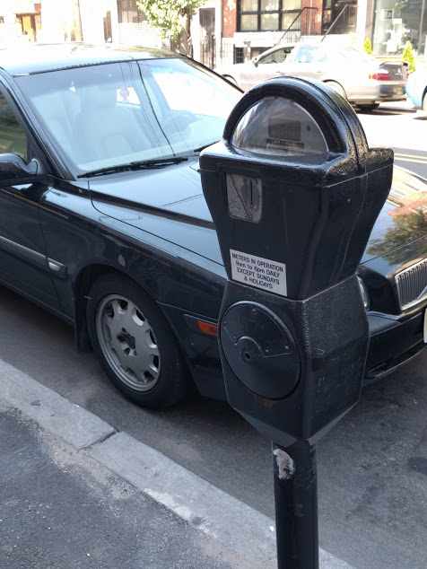 oude parkeermeter