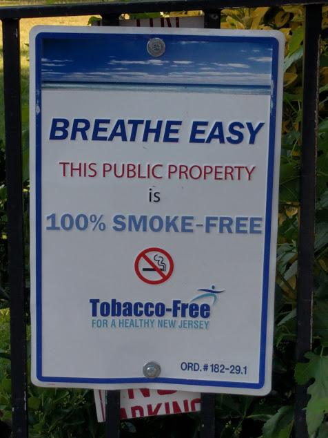 100% smoke free public property