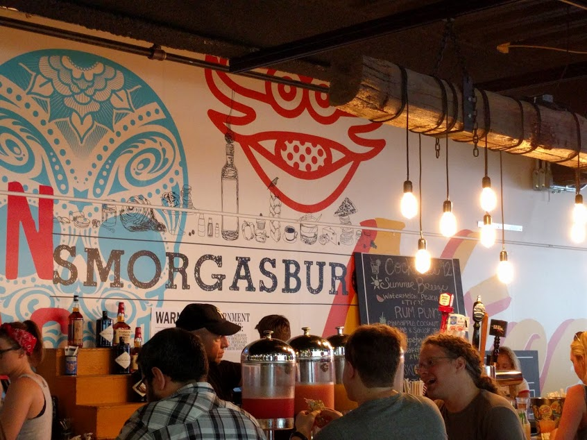 4th of July in New York: Smorgasburg