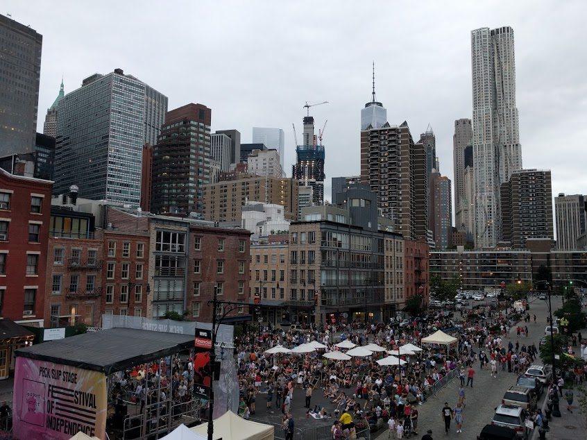 4th of July in New York: South Street Seaport