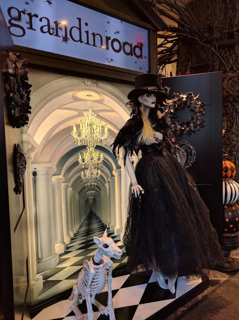 Halloween in Macy's NYC