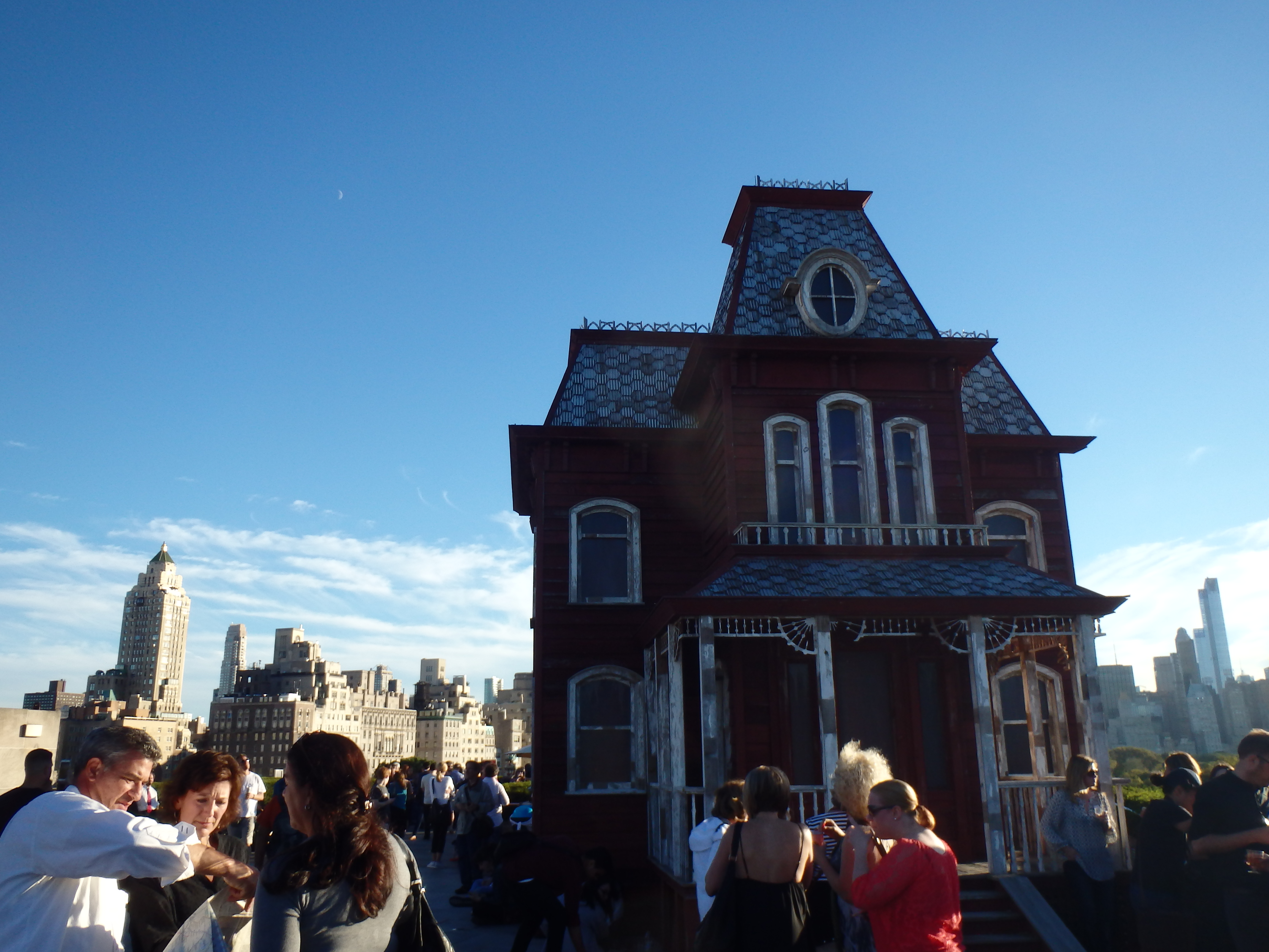 Psycho house on the MET
