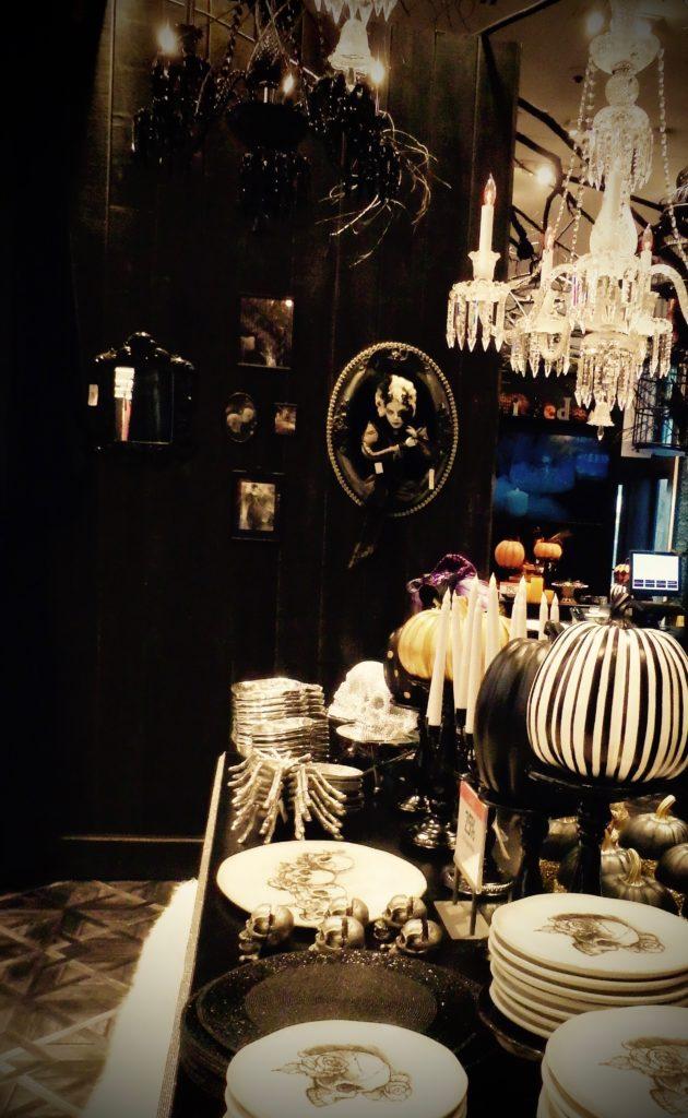 Halloweentafel bij MAcy's