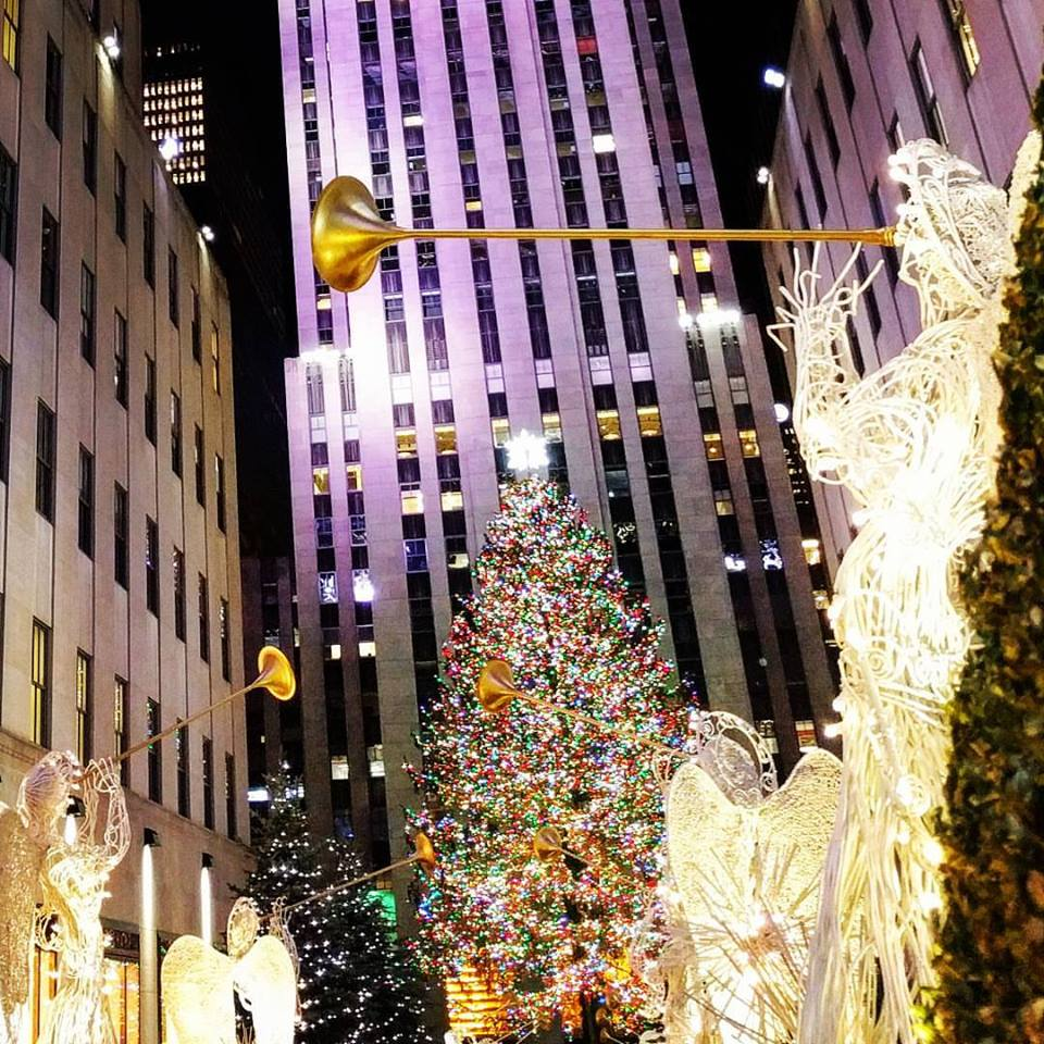 Rockefeller Center during Christmas