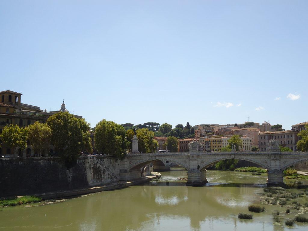 De Tiber in Rome - Waarom Italiaans leren in Rome?