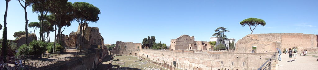 Panorama Palatijn - Paleis Keizer Augustus - Markt - Forum Romanum - Rome