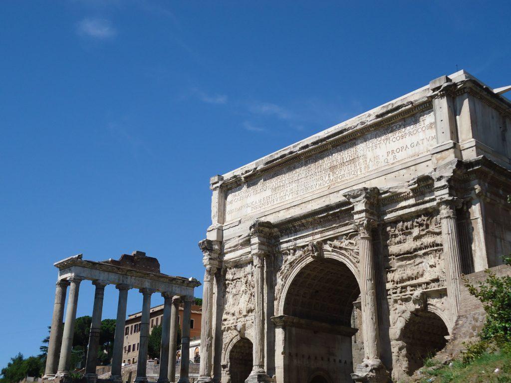 Forum Romanum - Waarom Italiaans leren in Rome?
