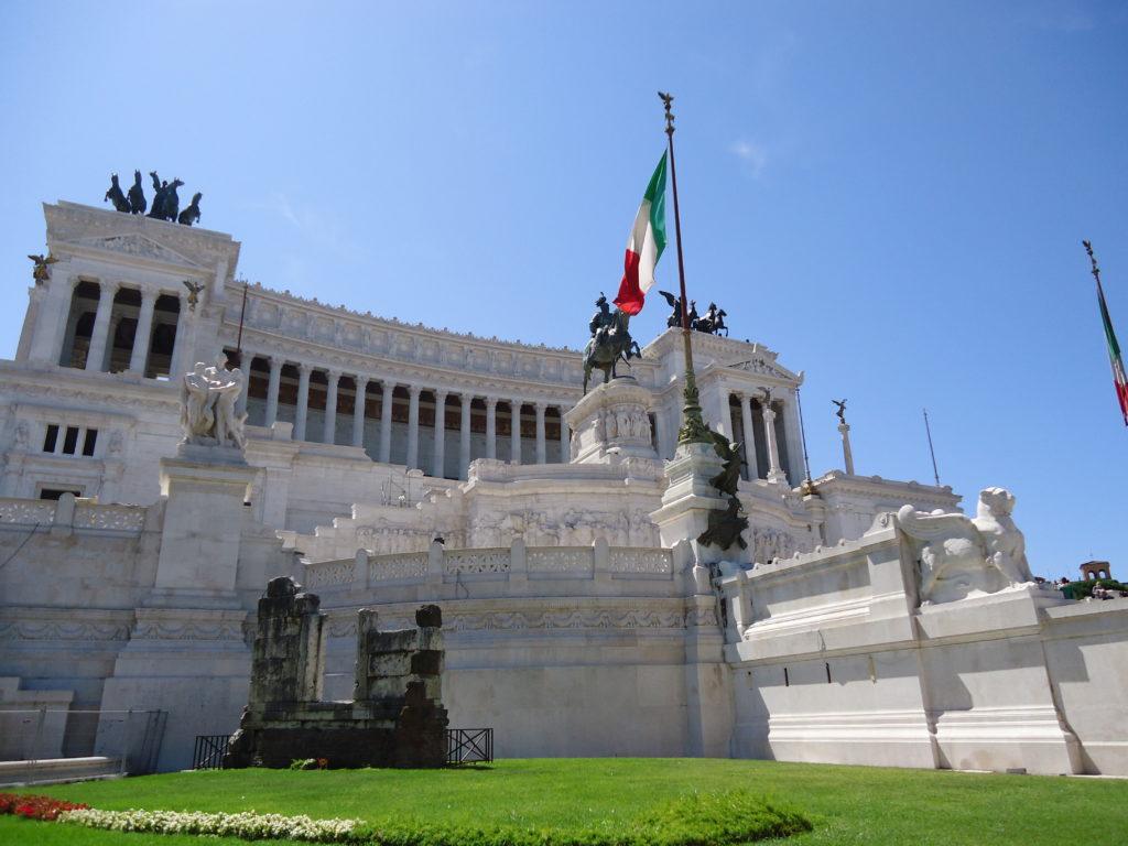 Monument van Victor Emanuel III - Rome