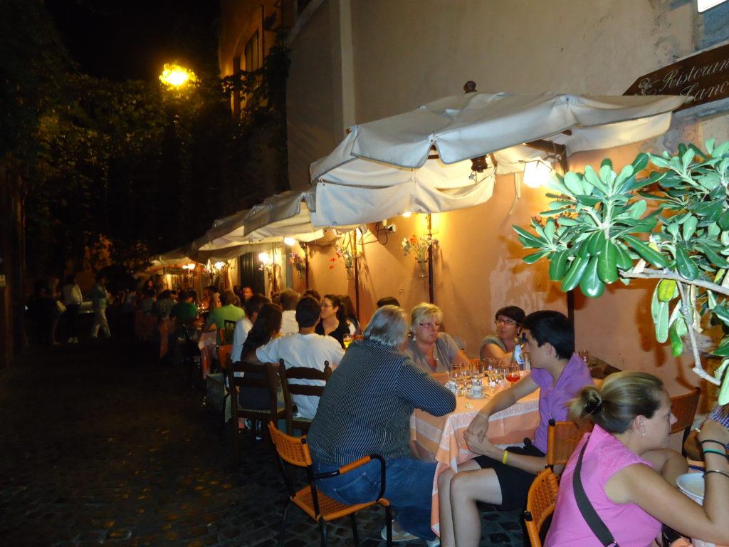 Restauranti La Canonica - Trastevere - Rome