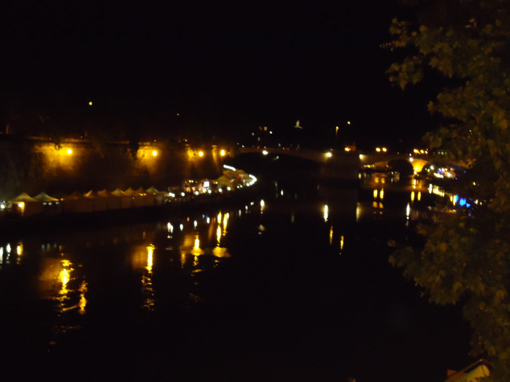 Tibereiland - Tiber - Trastevere - Rome - by night