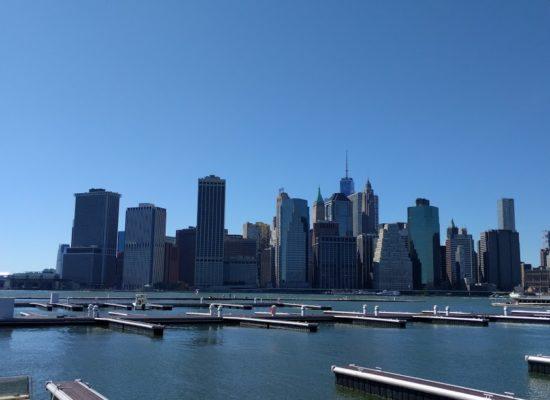 NYC downtown skyline