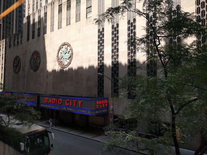 Radio City Music Hall - Rockefeller Center - NYC