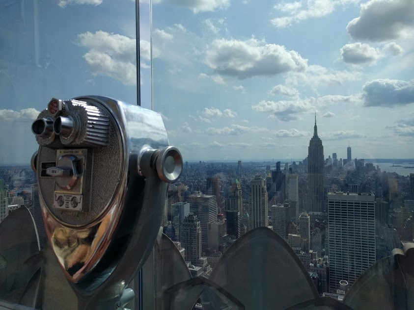 Beste zicht op New York City - Top of The Rock - Empire State Building